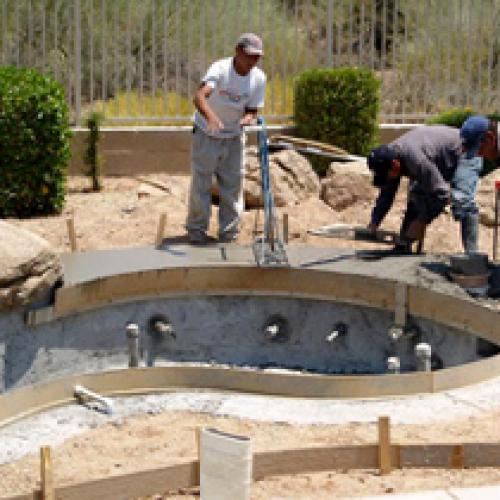 new-pool-construction